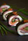 No-Rice Sushi Roll Stock Image