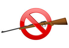No rifle Royalty Free Stock Image