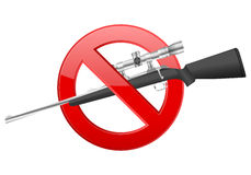 No rifle Royalty Free Stock Photography