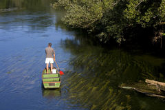 No rio Imagem de Stock Royalty Free