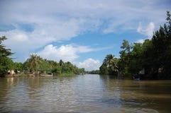 No rio de Mekong Fotografia de Stock