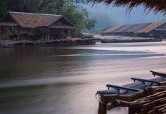 No rio Kwai em Kanchanaburi Fotos de Stock