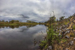 No rio Mologa Fotografia de Stock Royalty Free