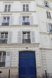 No.54 Rue Lepic Home of artist Vincent Van Gogh and his brother Theo between 1886-1888. Montmatre, Paris, France - August 2015 Royalty Free Stock Photo