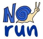 No run symbol Royalty Free Stock Image