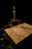 No sądzi książki bez go pokrywa Fotografia Stock