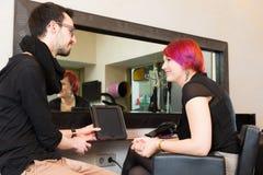 No ` s do cabeleireiro Foto de Stock Royalty Free
