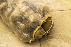 no saco de batatas, um saco de batatas, batatas, imagens, Imagens de Stock