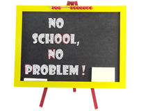 No school no problem Royalty Free Stock Images