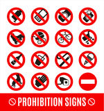 No set symbol Stock Photos
