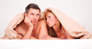 No sex couple Stock Photos