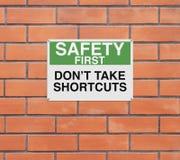 No Shortcuts Stock Photo