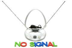 No signal Stock Photography