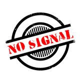 No Signal rubber stamp Royalty Free Stock Photos