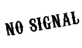 No Signal rubber stamp Stock Images