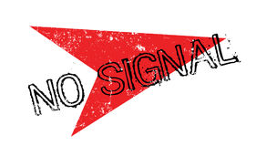 No Signal rubber stamp Royalty Free Stock Photo