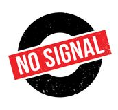 No Signal rubber stamp Stock Photography