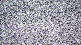 No signal, TV grain background stock footage