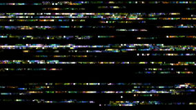 No Signal, TV Noise 0819. Abstract digital data forms flicker, ripple and pulse (Loop stock video footage