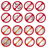 No signs Royalty Free Stock Photo