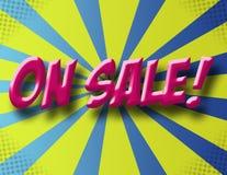 No sinal da venda Imagem de Stock Royalty Free