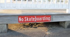 No Skate Boarding Royalty Free Stock Photos