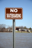 No Skateboarding Royalty Free Stock Photos