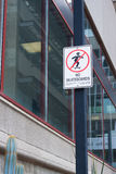 No skateboards sign Stock Photography