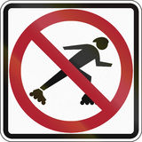 No Skaters Royalty Free Stock Image