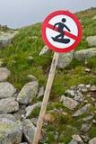 No ski Royalty Free Stock Photography