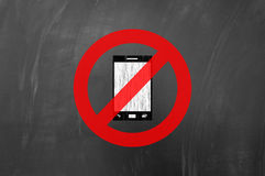 No smartphone allowed Royalty Free Stock Photography