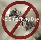 no smocking day Royalty Free Stock Photography