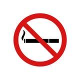 No smoke zone sign Royalty Free Stock Photos