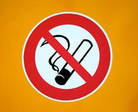No smoking Royalty Free Stock Image