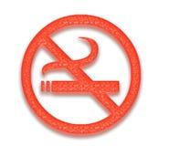 No smoking. Isolated, cigarets, cigarettes, danger, hazard, health, healthcare, medical, sign, signs, smoke, smoking, tobacco, warning, warnings, backgraund Royalty Free Stock Photos