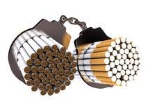 No smoking. On white background (computer generated image royalty free illustration