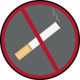 No smoking. Social logo no smoking- ban Royalty Free Stock Image