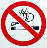 No Smoking. Royalty Free Stock Photography
