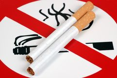 No Smoking. Royalty Free Stock Photo