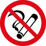 No smoking 7 (+ vector) Stock Photos