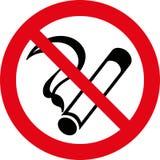 No smoking 7 (+ vector). No smoking sign, smoking warnings Stock Photos