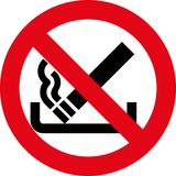 No smoking 8 (+ vector) Royalty Free Stock Images