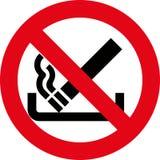No smoking 8 (+ vector). No smoking sign, smoking warnings Royalty Free Stock Images
