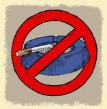 NO SMOKING AREA SYMBOL Stock Photography