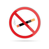 No smoking  art illustration Stock Photos