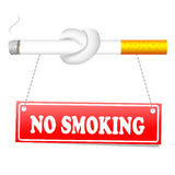 No smoking background Royalty Free Stock Images
