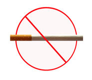 No smoking board Royalty Free Stock Image