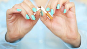 No Smoking close up Royalty Free Stock Photos