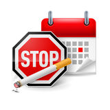 No smoking day icon Stock Photo