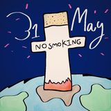 No smoking day Royalty Free Stock Images